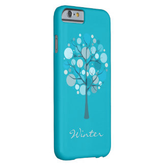 Winter Tree illustration Barely  iphone 6 Cases