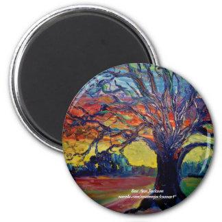 Winter Tree Magnet