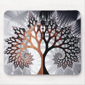 Winter Tree Mouse Pad
