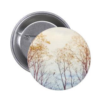 Winter Trees 6 Cm Round Badge