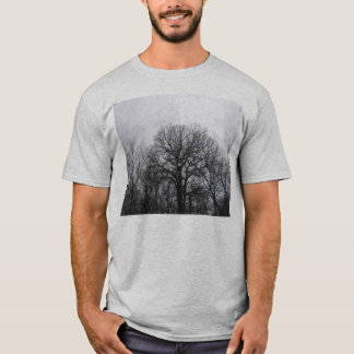 Winter Trees At Thatcher, . T-Shirt