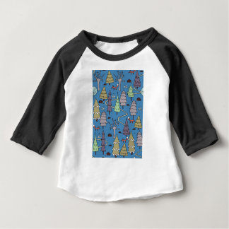 winter trees baby T-Shirt