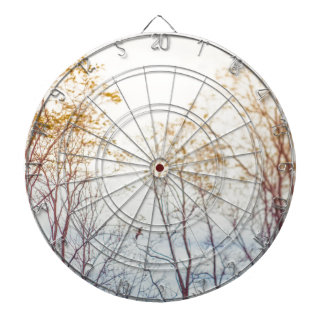 Winter Trees Dartboard