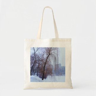 Winter Trees In Central Park Tote Bag