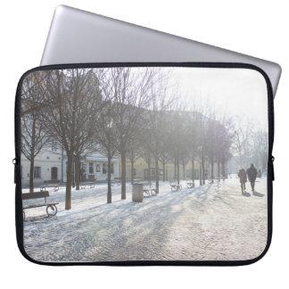 Winter Tree's in Prague (czech republic) Laptop Sleeve