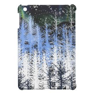 Winter trees iPad mini case