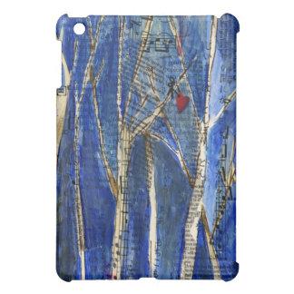Winter Trees with Heart Speck Case iPad Mini Case