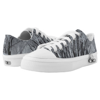Winter Trees Zipz Low Top Shoes, UK: 3 / EUR: 35.5