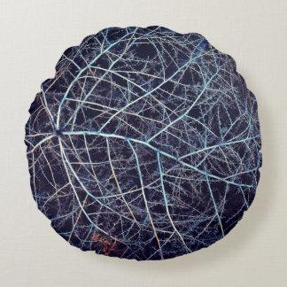 Winter Tumbleweed Round Cushion