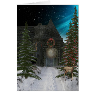 Winter Tunnel Card