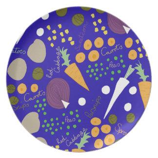 winter veg plate