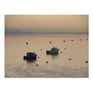 Winter View of Poole Harbour Postcard