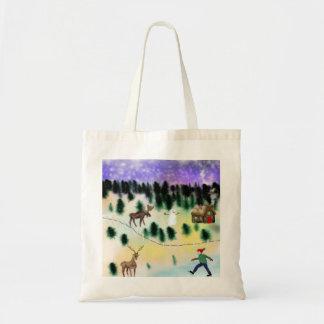 Winter Village Tote Bag