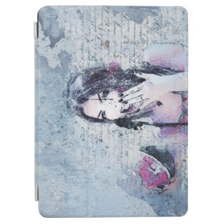 Winter Vintage Abstract Woman iPad Air Cover
