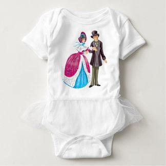 Winter walk baby bodysuit