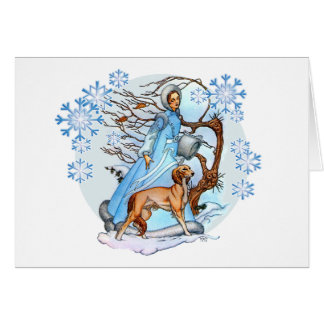 Winter Walk Greeting Card