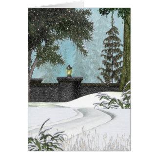 Winter Wall Card