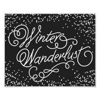 WINTER WANDERLUST | HOLIDAY ART PRINT PHOTO
