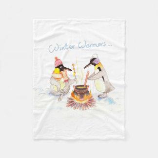 """""""Winter Warmers"""" Fleece Blanket Small"""