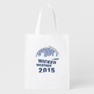 Winter Weather shopping bag 2015