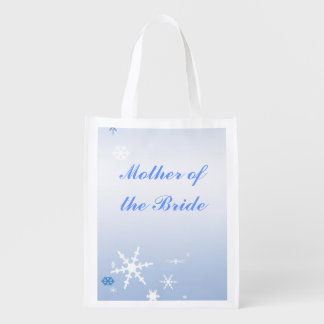 Winter Wedding Mother of the Bride Tote