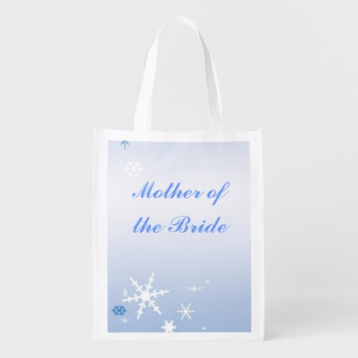 Winter Wedding Mother of the Bride Tote Market Tote