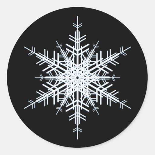 Winter Wedding Sticker