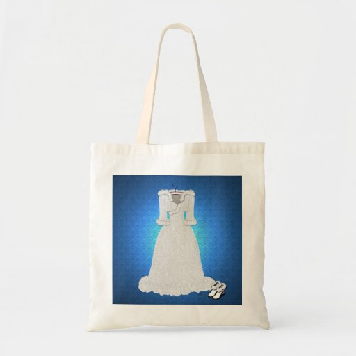 Winter Wedding Tote Bags