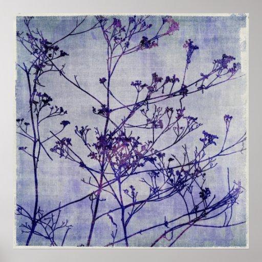 Winter Weeds Print