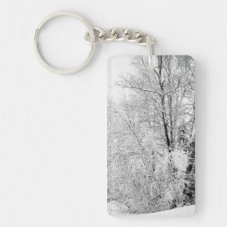 Winter Whites Key Ring