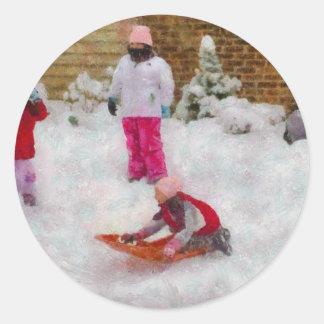 Winter - Winter is Fun Sticker