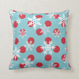 Winter Wishes Celebrate The Holidays Throw Pillow