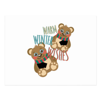 Winter Wishes Postcard