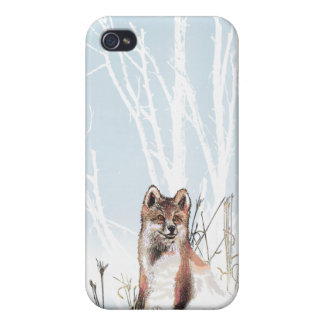 Winter Wolf Covers For iPhone 4