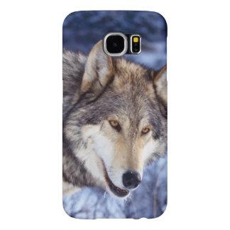 Winter Wolf Samsung Galaxy S6 Cases
