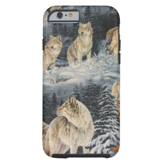 Winter Wolves Tough iPhone 6 Case