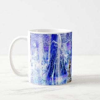 winter wonder swamp basic white mug