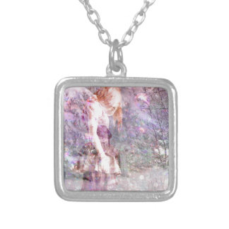 WINTER WONDERLAND 2 SILVER PLATED NECKLACE