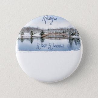 Winter Wonderland 6 Cm Round Badge