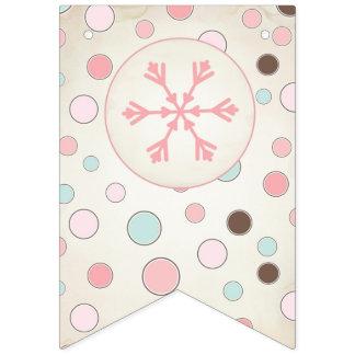 Winter Wonderland Banner ~ Pink Party