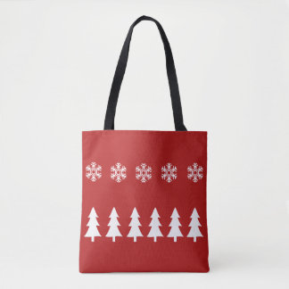 Winter Wonderland Christmas Tote Bag
