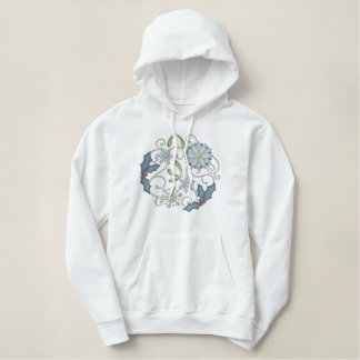 Winter Wonderland Embroidered Hoodie