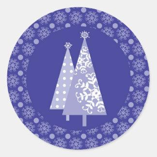 Winter Wonderland Envelope Seal Sticker