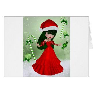 Winter Wonderland Fairy Greeting Card