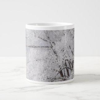 Winter Wonderland Frost Covered Tree Mug