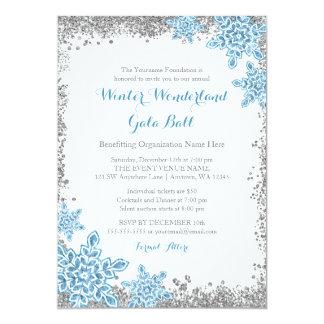 Winter Wonderland Gala Ball Invitations