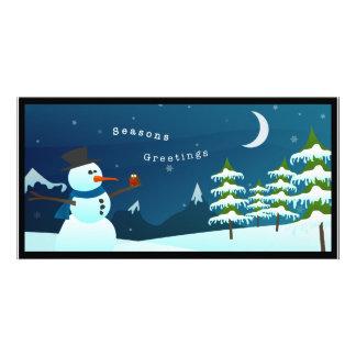 Winter Wonderland | Greeting Card Personalised Photo Card