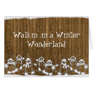 Winter Wonderland Holiday Card
