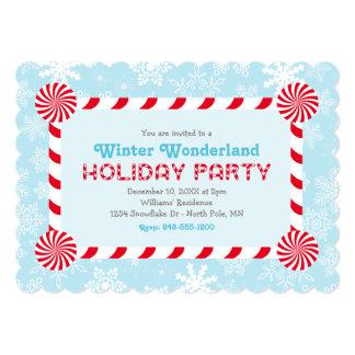 Winter Wonderland Holiday Party Invitation