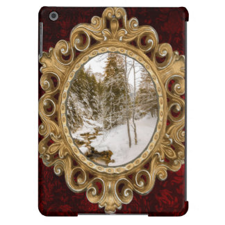 Winter Wonderland Landscape With A River iPad Air Covers